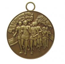 50mm Cross Country Medal MAR001CT